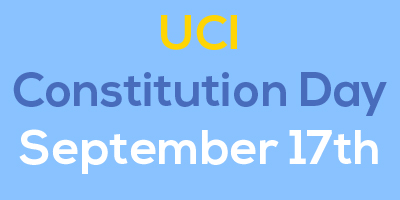 UCI Constitution Day